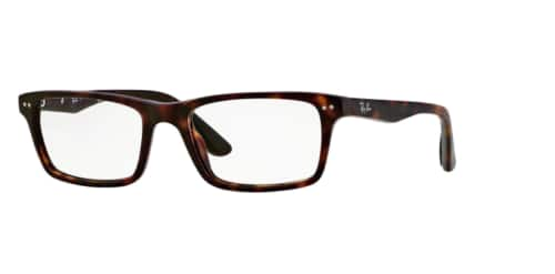 Ray Ban RX5288 2012 52mm Polished Havana Eyeglasses ( Frame With Demo Lens ) $39.99 + Free Shipping