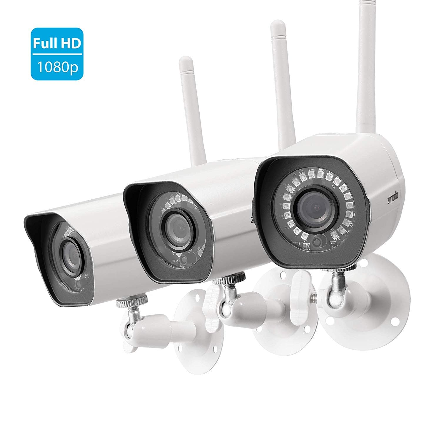 1080p HD Outdoor Wireless Security Camera System with 3 Bullet Cameras $103.99 + Free Shipping