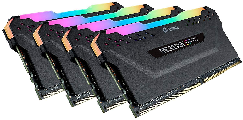 Corsair Vengeance RGB Pro 32GB (4x8GB) DDR4 3600 (PC4-28800) C18 Desktop Memory $177.99