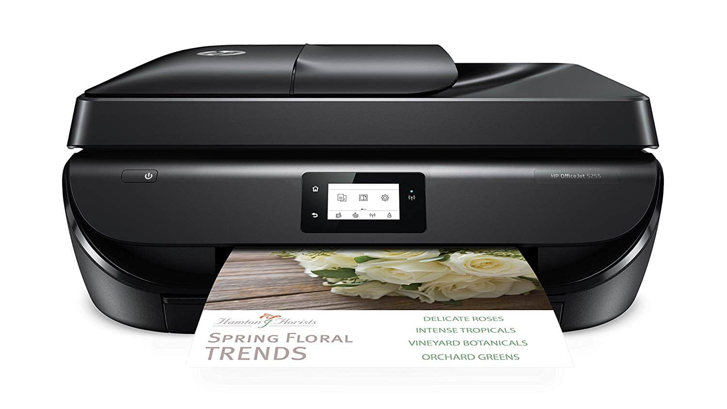 HP OfficeJet 5255 Wireless All-in-One Printer $73.99 + Free shipping w/ Prime