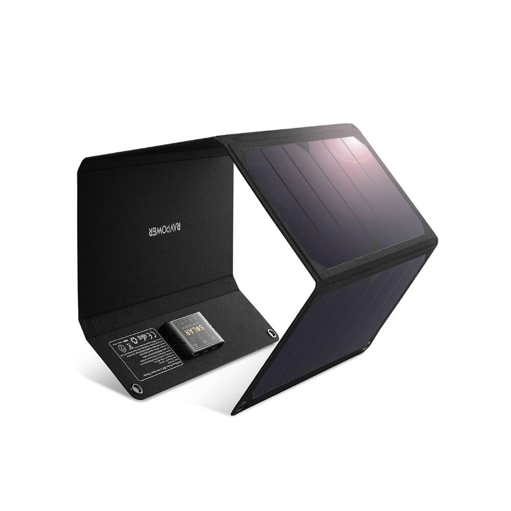 Ravpower 28W Solar Charger with 3 USB Port for $39.99
