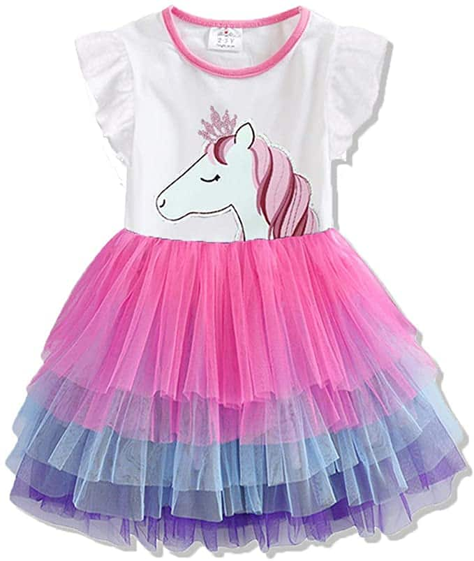 Summer Cotton Tutu Dresses for Girls 3-7 Years Old from $9.09 + FSSS