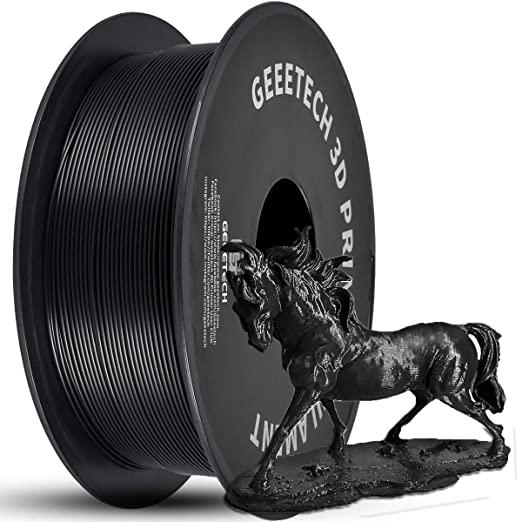 2.2lbs 1.75mm Tangle-Free PLA 3D Printer Filament (Black) $15.61 + FSSS