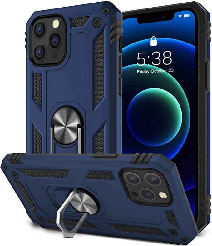 Military Grade Shockproof Cover Case for iPhone 12/iPhone 12 Pro $3.90 + FSSS