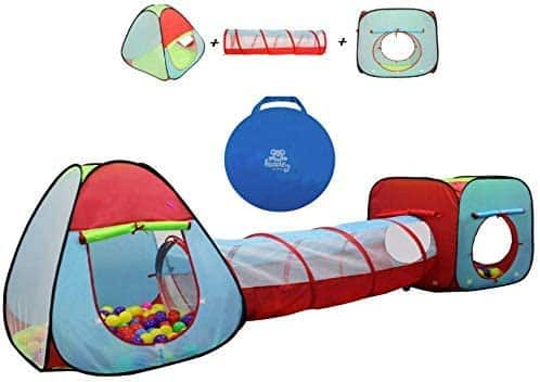 Kiddey Children's Play Tent with Tunnel 3-Piece Set for $28.46