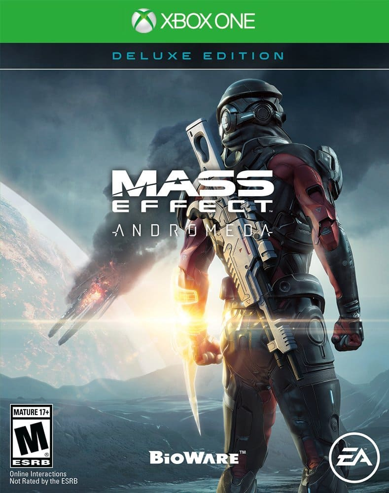 Mass Effect Andromeda Deluxe - Xbox One  $ 12 49 AC @amazon.com $12.49