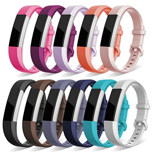 Oitom Adjustable Replacement Wristband Strap for Fitbit Alta HR and Alta (Various Colors) from $3.45 - FS w/Amazon Prime