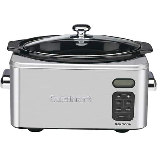 Cuisinart PSC-650 Stainless Steel 6-1/2-Quart Programmable Slow Cooker $46.43 AC + FS @Amazon