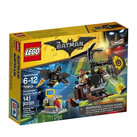 LEGO BATMAN MOVIE Scarecrow Fearful Face-Off 70913 Building Kit $11.19 AC + FS w/ Prime