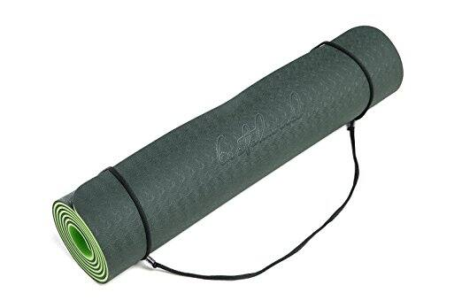 "BestsharedPlus Non-Slip PVC-Free, 6 mm Light Weight, Two Layer TPE Yoga Mat, 72"" by 24"" (Various Colors) from $26.15 @Amazon"