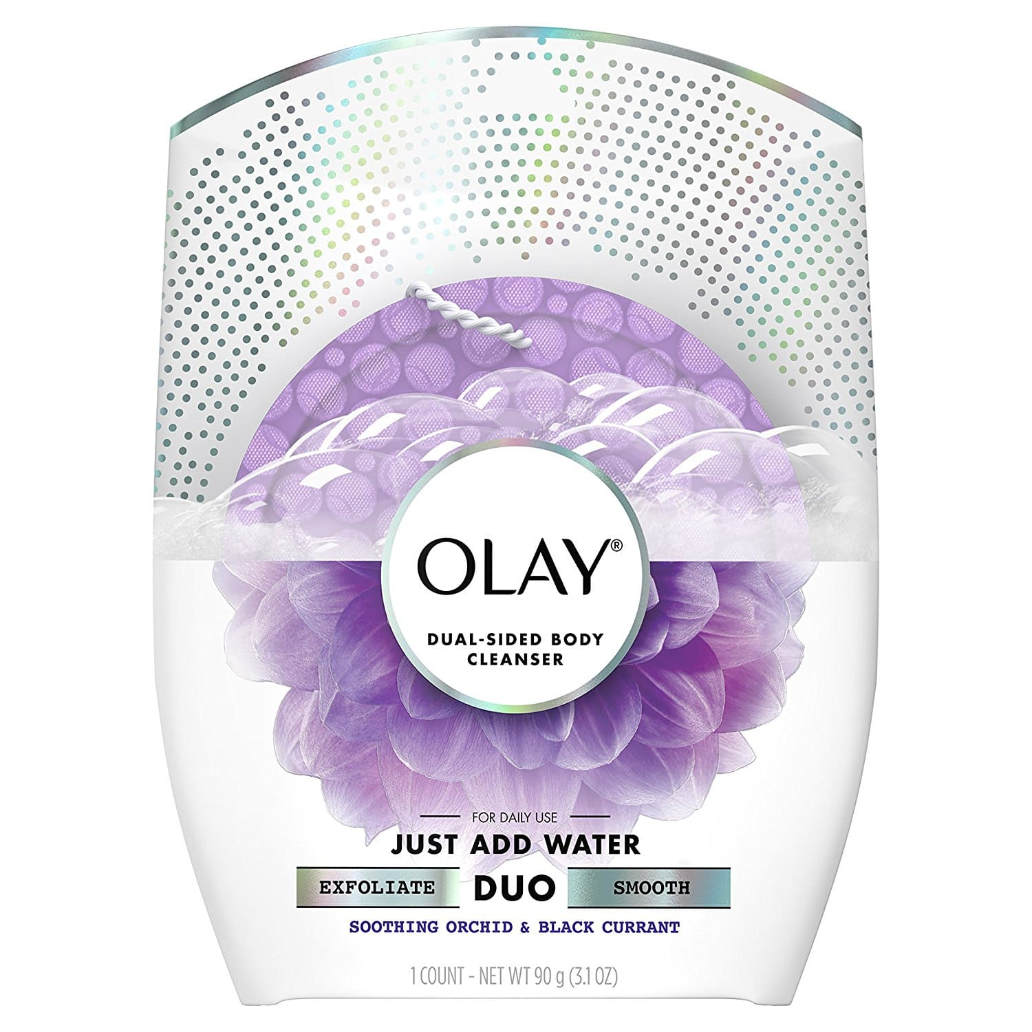 Add-on Item: Olay Body Cleansing Duo Soothing Buffer for $3.97 @Amazon