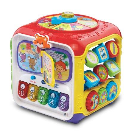VTech Sort & Discover Activity Cube $16.99 AC +FS @walmart