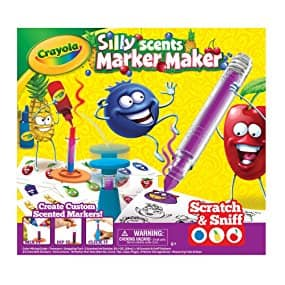 Crayola Silly Scents Marker Maker, Scented Markers, Gift for $14.99 @Amazon