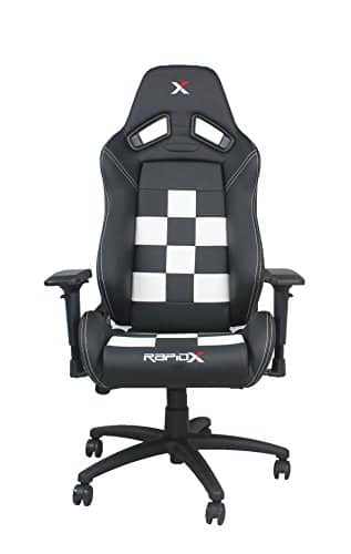 RapidX Finish Line Checkered Flag Pattern Gaming and Lifestyle Chair for $229 + FS @Amazon