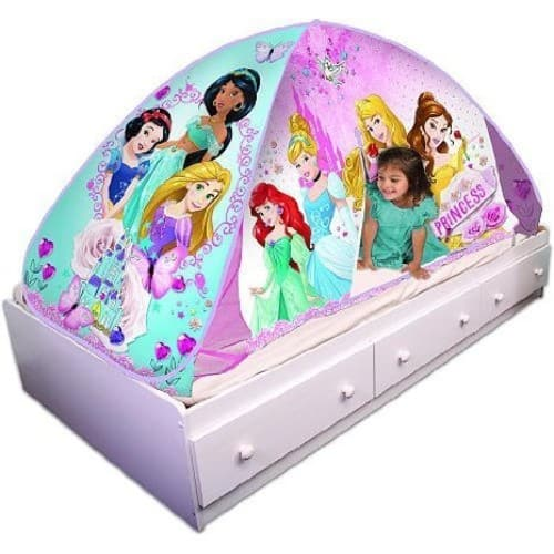 Playhut Disney Princess Bed Tent Playhouse for $13.99 with free Prime shipping.