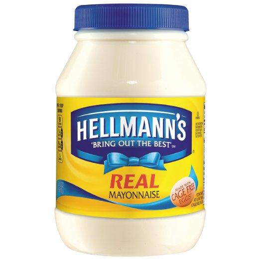 Add-on Item: Hellmann's Real Mayonnaise 30 oz for $2.95