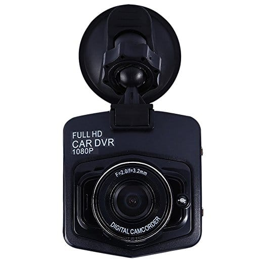 Full HD 1080P Mini Car DVR Camera Video Camcorder Parking Recorder with Night Vision, G-sensor (Black) for $12.99 FS