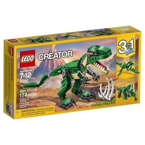 LEGO Creator Mighty Dinosaurs 31058 Building Kit  - In stock @ Amazon $11.99