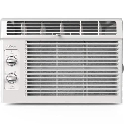 hOme 115V 5000 BTU Window Mounted Air Conditioner -  White $99.31 & FREE Shipping