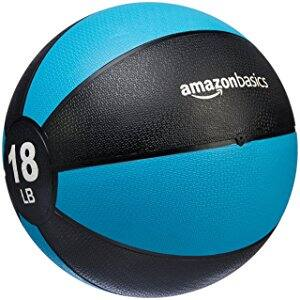 18-pound AmazonBasics Medicine Ball - $30.52 + FS at Amazon