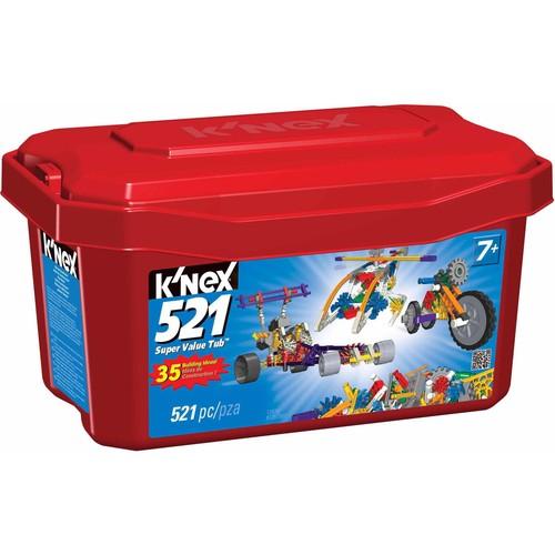 K'NEX Imagine 521 Super Value Tub - $14.44 @Walmart