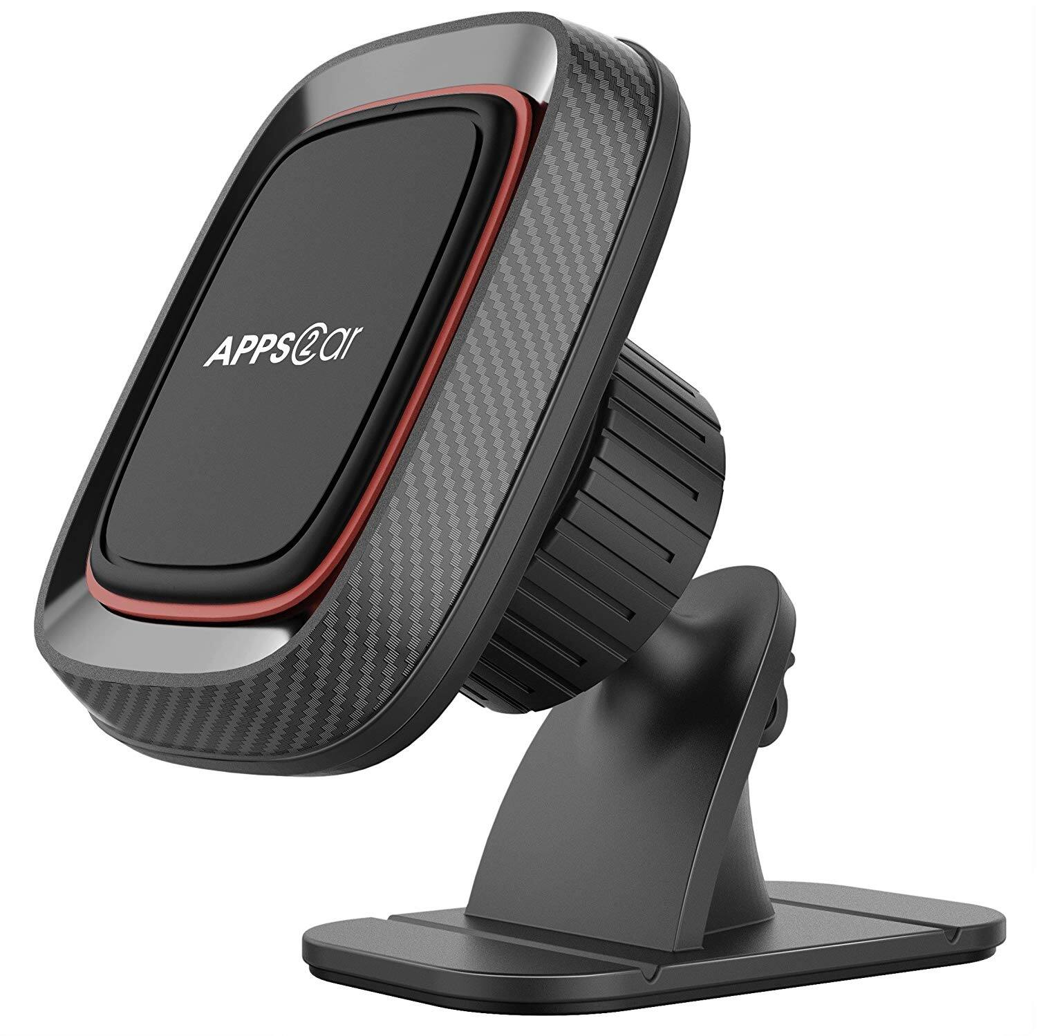 Stick On Dashboard Universal Magnetic Car Phone Mount Holder with 3M Adhesive for $4.76 @Amazon