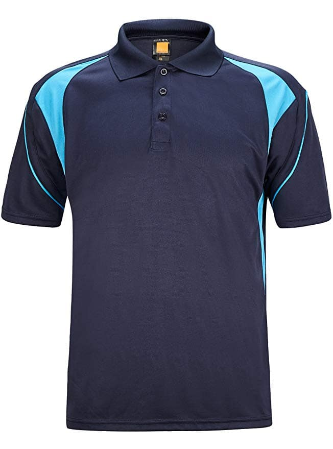 Men's Quick-Dry Short Sleeve Polo Shirts (various colors and sizes) $13.19 + FSSS