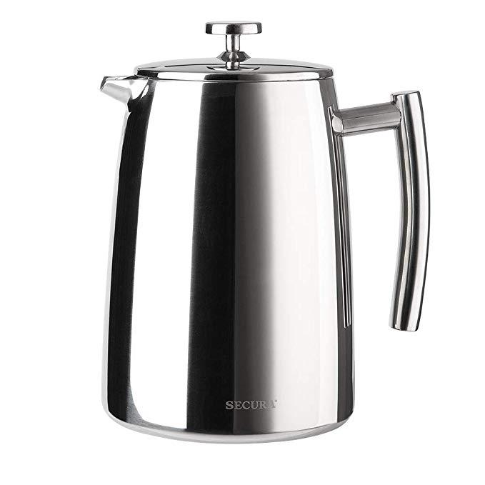 Amazon DOTD - Secura 1500ML Stainless Steel French Press Coffee Maker $25.89 + FS