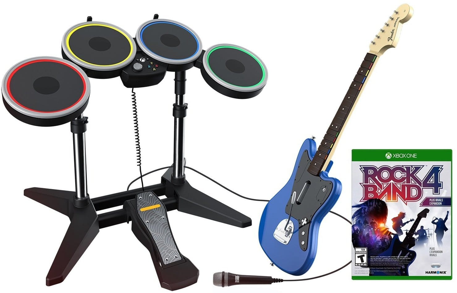 Rock Band Rivals Band Kit for Xbox One/PS4 $99 Amazon Prime