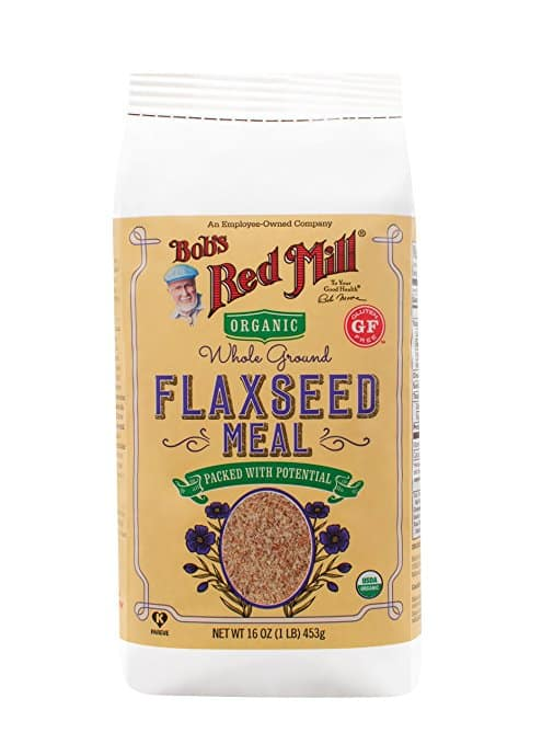 4-Pack 16oz Bob's Red Mill Organic Golden Flaxseed Meal $9.64 (free shipping for orders $35+)