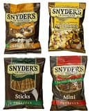 36-Ct Snyder's of Hanover Pretzel Variety Pack $9.39 or less S&S @Amazon