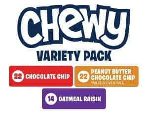 116-Count (2 x 58-count) Quaker Chewy Granola Bars (variety pack) $14.23 + Free S/H @Amazon