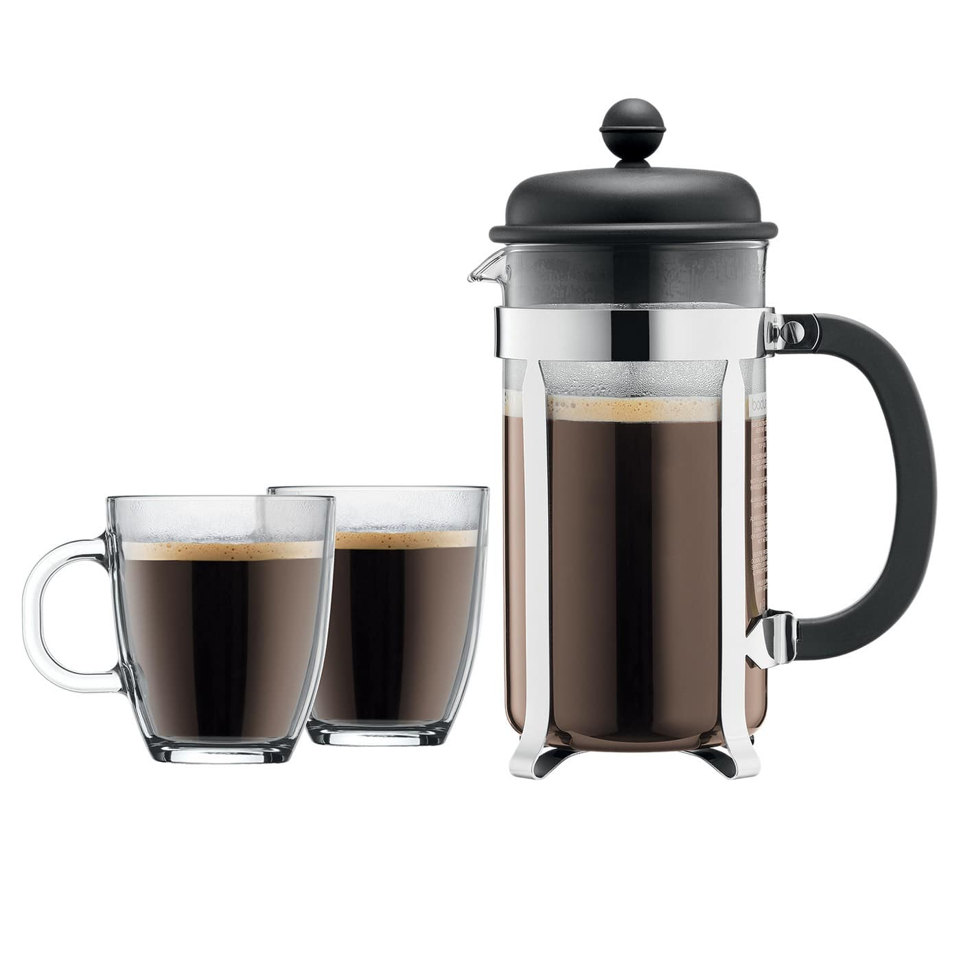 Bodum Brazil 8 Cup French Press with Two Mugs - $14.99