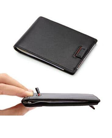 Minimalist Slim Wallet With RFID Protection for $11.99 w/ free shipping on Amazon