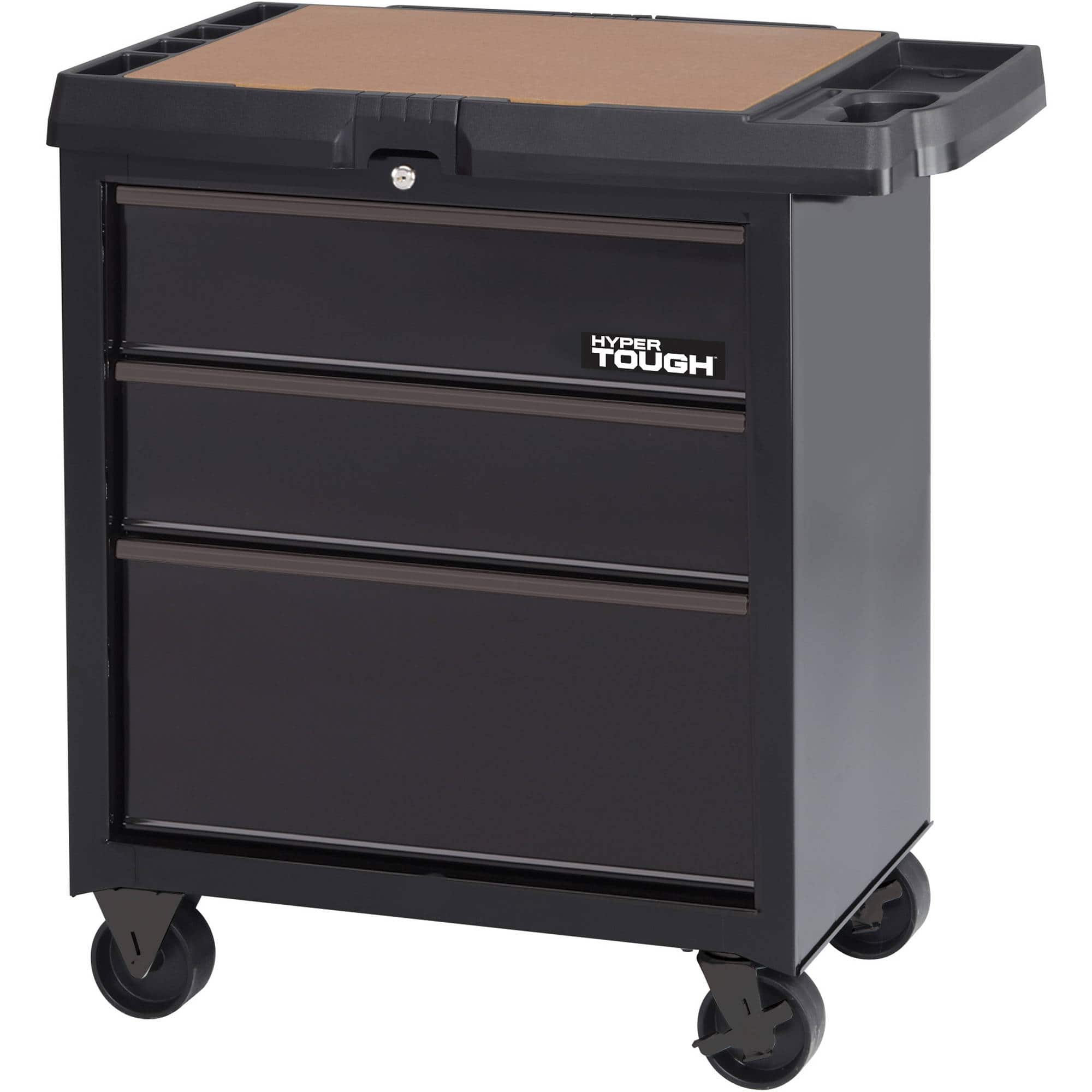 Walmart Hyper Tough 3-Drawer Cart $37 B&M YMMV