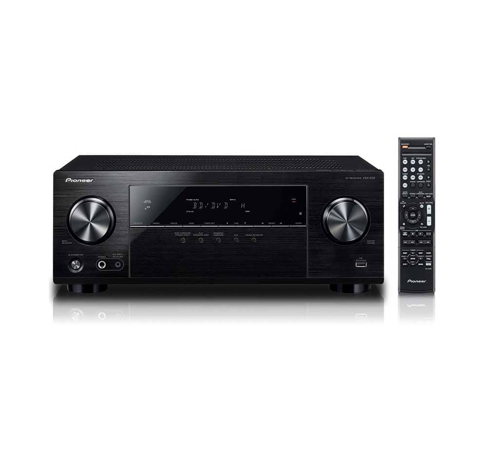 WM B&M YMMV: Pioneer VSX532 5.2-channel AV Receiver - $179