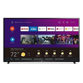 """Philips 55"""" 4K Android TV with the Google Assistant Built-in for $279"""