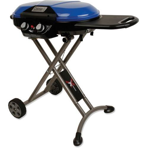 Coleman Roadtrip X-Cursion Blue 20000-BTU 285-sq in Portable Gas Grill - Lowes B&M ONLY YMMV $94.50