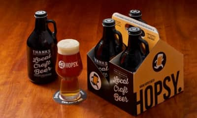 (Select cities) $15 or less for 128oz local beer in 4x32oz mini-growlers