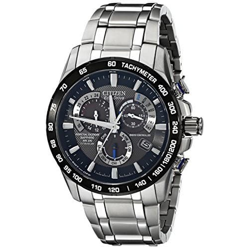 Citizen Eco-Drive Men's AT4010-50E Titanium Perpetual Chrono A-T Watch - $325.02