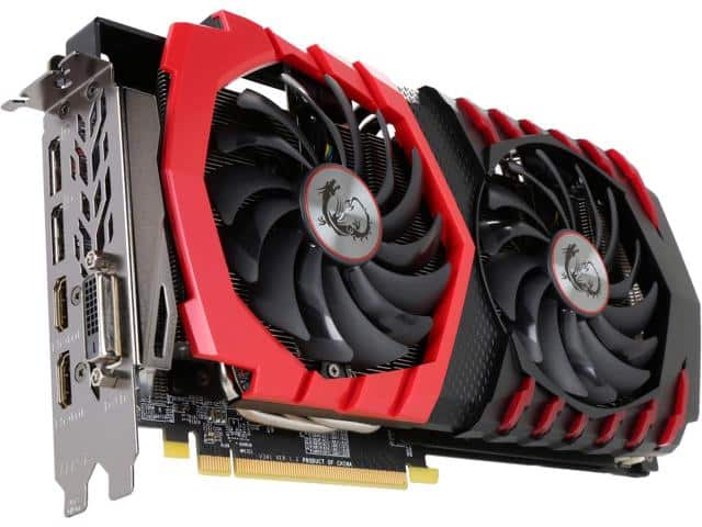 "MSI Radeon RX 580 DirectX 12 RX 580 GAMING X 8G 8GB 256-Bit GDDR5 PCI Express 3.0 x16 HDCP Ready CrossFireX Support Video Card with FREE ""Champions Pack"" for QUAKE CHAMPIONS $300"