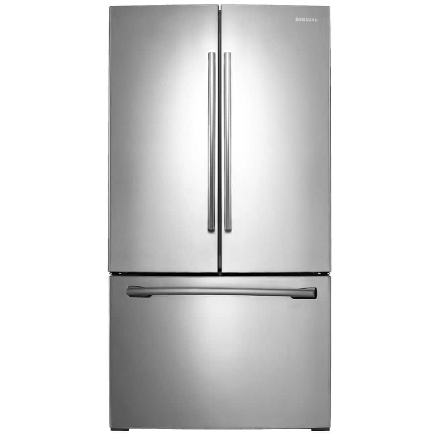 $999@ lowes HD BB Samsung 25.5-cu ft French Door Refrigerator with Ice Maker (Stainless Steel)