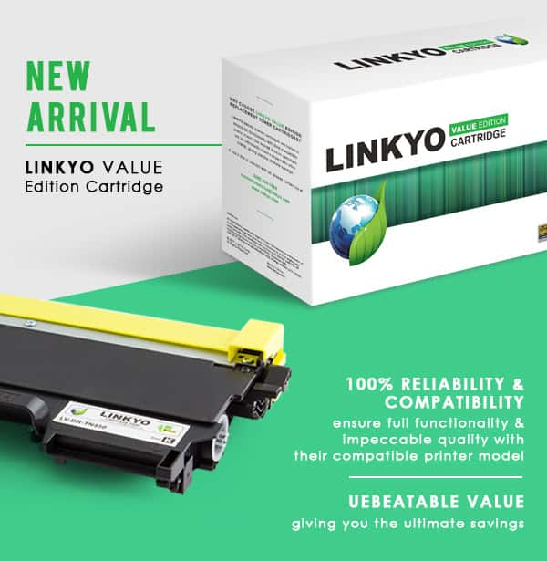 Linkyo Valueline Compatible Brother TN450 + TN660 Toner - $7.98 AC (2-pack) + Free Shipping w/ Amazon Prime