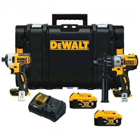DeWalt 20V MAX XR 2-Tool Combo Kit with ToughSystem + 2 Free Tools $389 + Free Shipping
