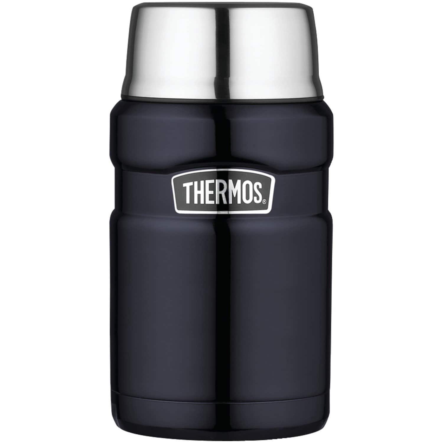 Thermos Stainless King 24 Ounce Food Jar, Midnight Blue for 18.23 shipping free for Prime members $18.23