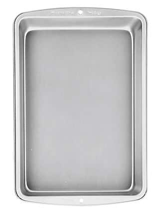 Non-Stick Cake Pan 9 3/4in x 14 1/2in $1