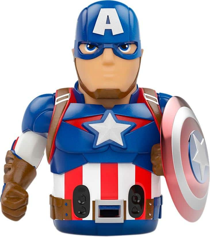 Ozobot - Captain America Action Skin for Ozobot Evo - Blue with Red/Silver/White trim $4.99 + Free Shipping
