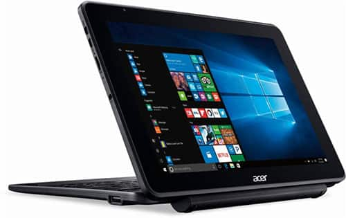 """Acer - One 10 - 10.1"""" - Tablet - 32GB - With Keyboard - Shale black $119.99"""