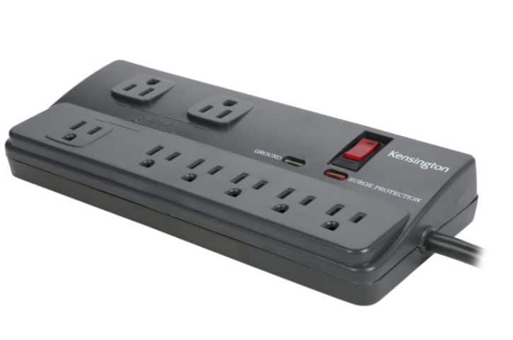Kensington K38218NA 6 Feet 8 Outlets 1080 Joules Surge Protector $12.99 at NEWEGG.com Free Shipping With Shoprunner