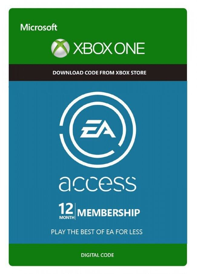 XBOX ONE EA ACCESS 12 MONTH SUBSCRIPTION Digital Code Sale For $25.59